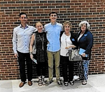 Jared Brown and family